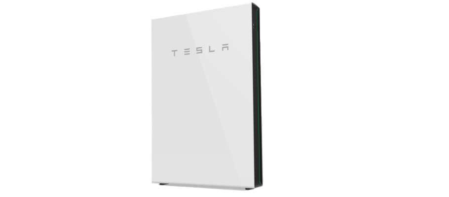 Tesla Powerwall exterior